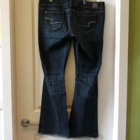 EUC AE American Eagle Artist stretch jeans 14Long